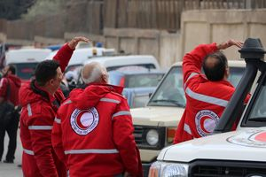 In Eastern ghouta came second humanitarian convoy