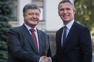 Украина готовит план действий для вступления в НАТО - Порошенко