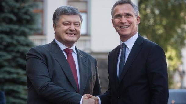 НАТО официально признало желание Украины вступить в Альянс