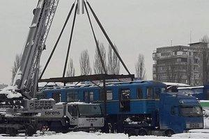 Какая судьба ждет проданные с аукциона вагоны киевского метро