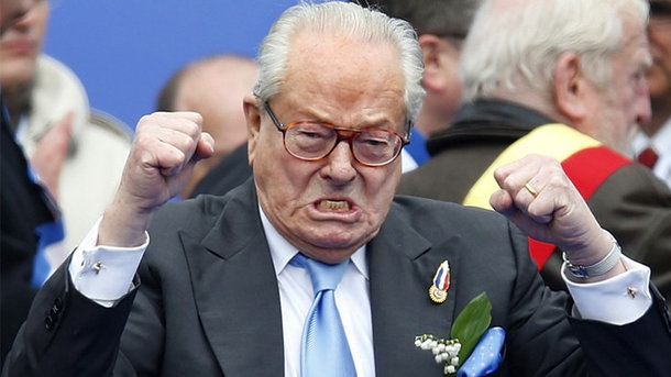 ЛеПена лишили поста почетного председателя созданной импартии «Национальный фронт» Франции