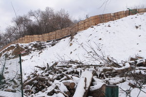 В Киеве резко возрос риск оползней