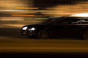 Ночные гонки в Ровно: полиция ловила неадекватного водителя с пакетом янтаря