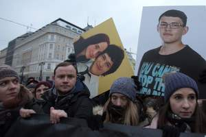 Скандал из-за убитого журналиста в Словакии набирает обороты: глава МВД сделал заявление