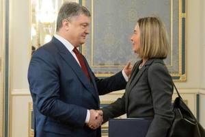 Порошенко – Могерини: Санкции действуют вопреки циничной лжи России