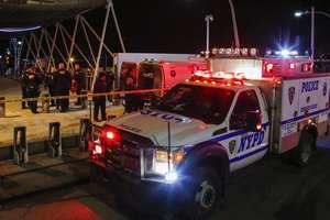 Падение вертолета в Нью Йорке: появились фото