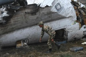 The cause of the plane crash in Kathmandu could be pilot error