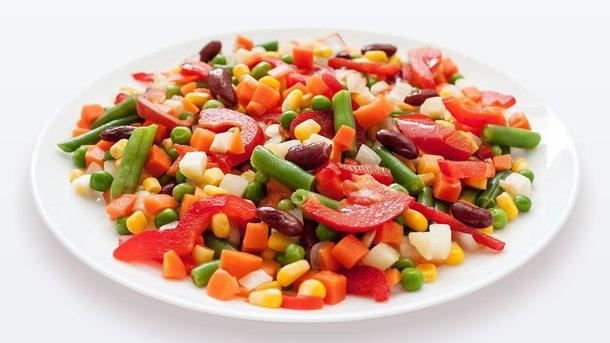 Постный салат из фасоли Фото: pixabay.com