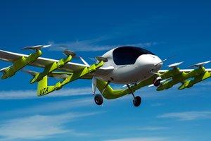 Сооснователь Google испытал свое летающее такси: видео