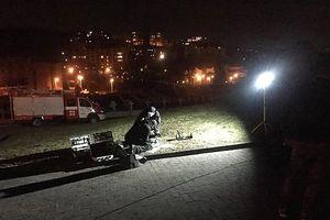 Во Львове бросили взрывчатку к польскому Мемориалу орлят