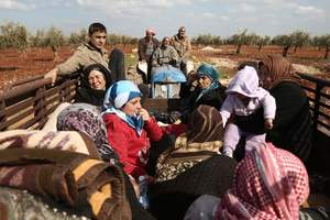 From Eastern ghouta fled 300 civilians