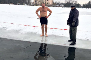 Records Mar: Ukrainians staged swim under the ice and quote marks PI