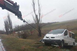 У Запорізькій області перекинулася машина з дітьми-спортсменами