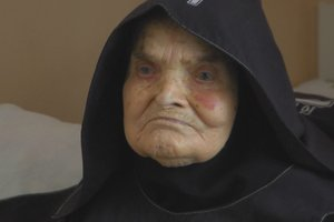 107-year-old nun, from