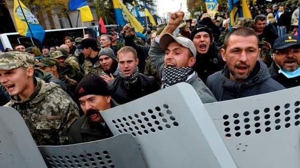 Соратник Саакашвили опознан как человек, оплачивавший акции протеста в Киеве