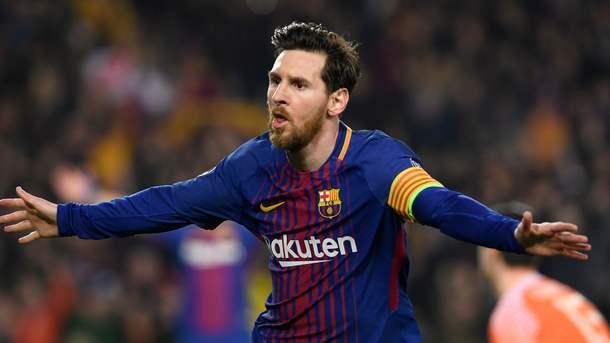 Лео Месси забил сотый гол в Лиге чемпионов