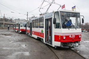 В Запорожье после реконструкции вышли на маршруты трамваи