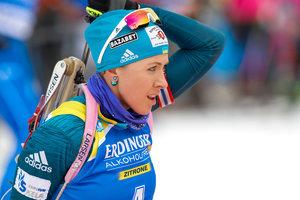 Юлия Джима завоевала медаль в спринте на Кубке мира по биатлону