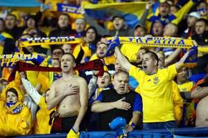 Сборная Украины занимает 35-е в рейтинге ФИФА