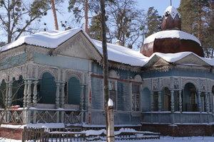 Прогулка по Пуще в Киеве: дом, где жил популярный киевский портной, и часовня-мавзолей для банкира