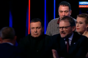 Новый казус на президентских дебатах в РФ: произошла драка между кандидатами