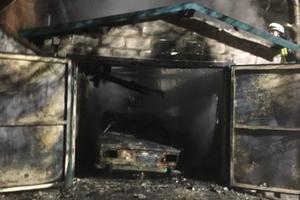 В Запорожской области сгорели два автомобиля