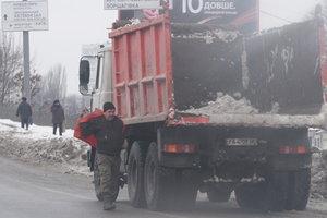 Водителей в Киеве призывают не пользоваться авто