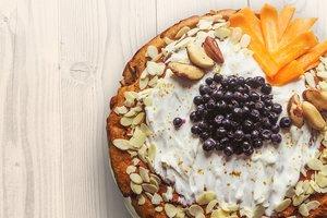 Завтрак от Юлии Высоцкой: манник по-гречески с йогуртом