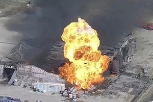 На химзаводе в США прогремел взрыв