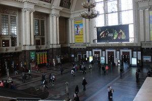 На вокзале в Киеве заменят эскалаторы