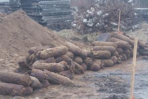 На польской военной базе нашли более ста бомб времен Второй мировой