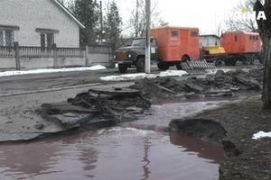 In Kremenchug the road went under ground