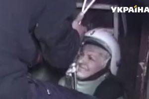 Во Львовской области женщина ушла под землю на своем подворье