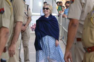 Хиллари Клинтон во время визита в Индию оказалась в больнице