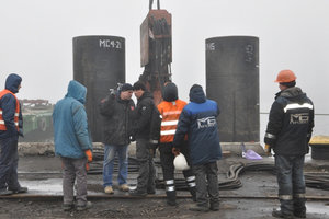 В Одесском порту начали реконструкцию одного из старейших причалов