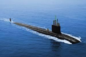 США приняли на вооружение новую атомную подводную лодку класса Virginia