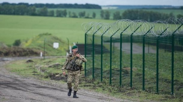 Украинский пограничник подорвался награнате налинии соприкосновения вДонбассе