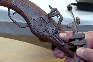 В Колорадо найден уникальный 500-летний пистолет: видео