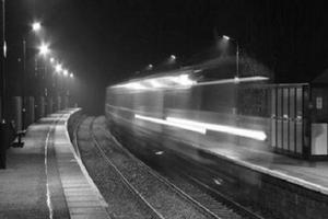 В китайском метро на видео попал поезд-призрак