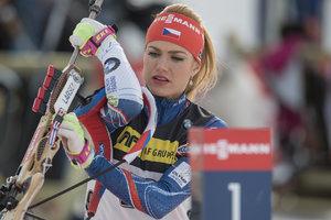 Чешская красавица-биатлонистка Коукалова распродает награды ради благотворительности