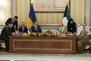Украина и Кувейт подписали соглашений о военном сотрудничестве