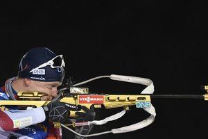 Сборная Норвегии выиграла мужскую эстафету Кубка мира по биатлону