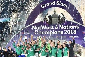 Сборная Ирландии выиграла Кубок шести наций по регби