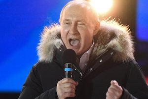 В России продолжается подсчет голосов на выборах президента
