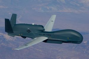 Us drone cruised over the Donbas