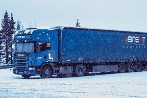 Из-за непогоды в Хмельницкой области в пробках застряли 27 грузовиков