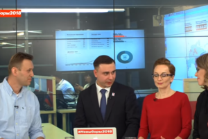 """""""Ты лжешь в каждом своем слове"""": Навальный """"наехал"""" на Собчак в прямом эфире"""