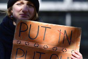 В Европе митинговали против выборов в РФ