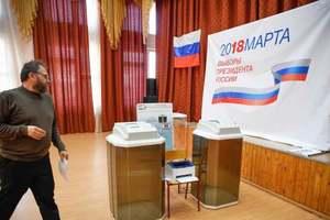 По всей Украине прошли мирные акции против российских выборов в Крыму