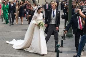 Свадьба принца Кристиана Ганноверского: невеста покорила роскошным нарядом